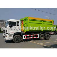 Wholesale Hook Arm Roll Back Garbage Compactor Truck For 15-20 CBM Garbage Container from china suppliers