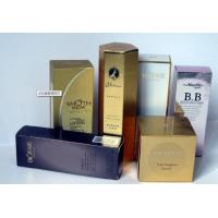 Wholesale Customized Cosmetic Box Packaging With Silver Foil Stamped / Embossed Logo from china suppliers