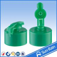 Wholesale Green 24/410 Plastic Bottle Cap for empty bottle , snap fit cap from china suppliers