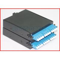 Wholesale Single Mode 24 Core MTP Cassette Patch Panel with MTP to LC Duplex Fanout Cable from china suppliers