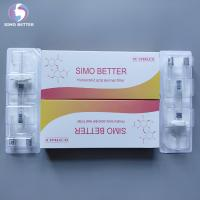 Wholesale Cross Linked Face Beauty Filler Hyaluronic Acid Dermal Filler 2.0ml , CE Approved from china suppliers