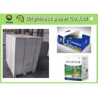 Wholesale C2S white back duplex board 250gsm ~ 450gsm for two side printing from china suppliers