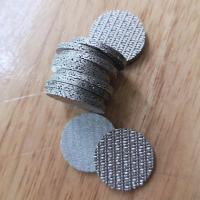 Wholesale Perforated Metal Sintered Wire Mesh 5cm-100cm Width Good Permeability from china suppliers