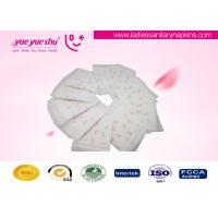 Regular Daily Use Disposable Sanitary Napkin With Printed Butterfly Pattern