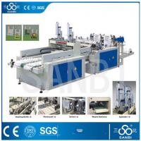 China 9Kw Auto Polythene Bag Manufacturing Machine / Equipment With Two Sealing knifes on sale