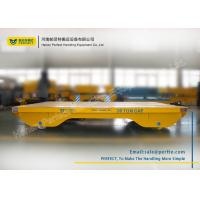 Quality Solid Railway Equipment Electric Heavy Load Cart Flat Car For Material Transporting for sale