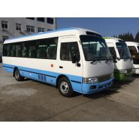 Wholesale Petrol High Roof Long Wheelbase Commercial Utility Coaster Bus For Tourist Use from china suppliers