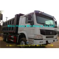 Buy cheap 6 x 4 336hp / 371hp Sinotruk Howo Tipper  Dump Truck Hyva Lifting Iso Ccc  thickness of bottom and side from Wholesalers