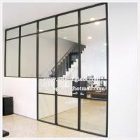 Buy cheap Clear 6mm 8mm 10mm 12mm Tempered Glass Partition Wall from wholesalers