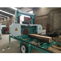 new design portable horizontal band sawmill model MJ1000D/MJ1300D/MJ1600D