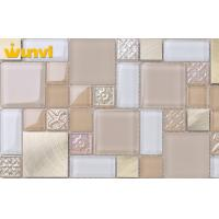 Wholesale Durable Light Grown And Mixed Kitchen Mosaic Wall Tiles Irregular Chip from china suppliers