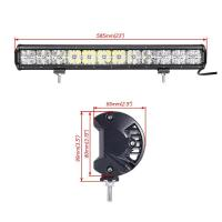Wholesale Made in China auto roof white Cross DRL lighting 21.5'' cree 120w 7D rally led driving light bar from china suppliers