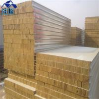 Wholesale iso 50mm rock wool 20ft container house sandwich panel used for labor camp from china suppliers
