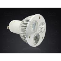 Wholesale Warm White / Pure white GU10 LED Spotlight for Home Show Case Lighting 3 Watt 280lm from china suppliers
