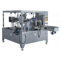 China 1 Phase 220V Rotary Pouch Packing Machine 4.5KW Power 2450 * 1880 * 1900mm Size on sale