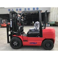 Wholesale FD30 3 Ton Diesel Forklift Truck , 4500mm Triplex Mast Forklift With Free Parts from china suppliers