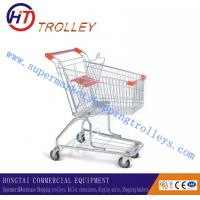China Metal Shopping Trolley With Baby Seat on sale