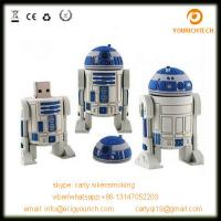Wholesale star wars R2D2 usb pen drives accept paypal usb flash drive from china suppliers