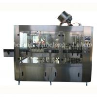 Wholesale 3 In 1 Carbonated Drink Bottling Machine 220V / 380V Voltage PCL Control from china suppliers