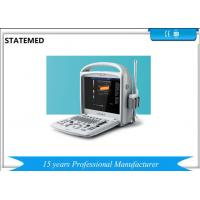Buy cheap Veterinary Portable Ultrasound Scanner 300 MM Scanning Depth 15 Inch LCD Monitor from wholesalers
