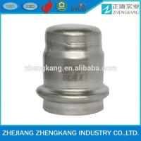 Wholesale Press Fittings cap stainless steel thin wall pipe from china suppliers