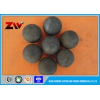 China HRC 60-68 High Density Cement Plant use Cast iron Grinding balls for ball mill on sale