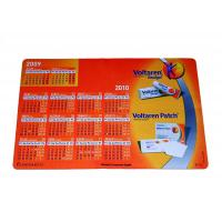 Buy cheap Anti Slip Rubber Fabric Surface Calendar Counter Top Mats For Protecting Desk from wholesalers