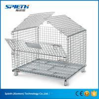 Wholesale Heavy Duty Scale And Wire Container Type Metal Collapsible Storage Wire Cages from china suppliers