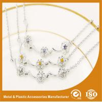 Buy cheap Promotional Unique Custom Metal Chain Bracelets In Gold / Silver from Wholesalers