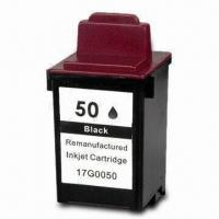 China Ink Cartridge, Suitable for Lexmark 50/60, Available in Pigment Ink Type on sale