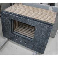 China Blue Pearl Solid Granite Worktops Apartment / Hotel Renovation Suit on sale