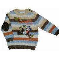 Wholesale Boy′ Knitted Sweater, Pullover, Long Sleeve (SFY-A050) from china suppliers