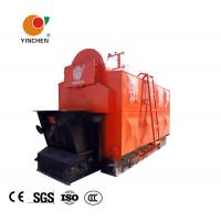 Wholesale Horizontal Biomass Fired Steam Boiler , Wood Fired Hot Water Boiler 1-20 T/H Rated Output from china suppliers