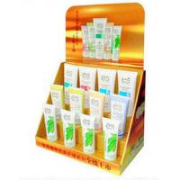Wholesale 3 Tier Corrugated Cardboard PDQ Display For Cosmetic Promotion With Custom Graphic from china suppliers