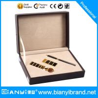 Wholesale Custom boxed corporate pen keychain men gift set from china suppliers