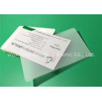 China 60x90mm 65x95mm 60x95mm Hot Laminating Pouches For Name Cards Business Cards on sale