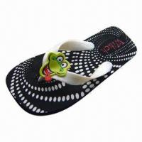 Wholesale Cute Design Model Flip Flops, Made of PE Material from china suppliers