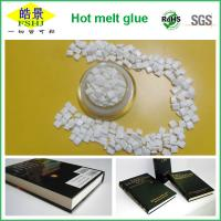 Packaging / Bookbinding Hot Melt Glue ,Odorless White Rubber Book Binding Glue