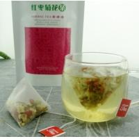 Wholesale natural chrysanthemum red dates herbal tea triangle teabag from china suppliers