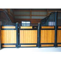 Wholesale Pre Built Modern European Horse Stalls Bamboo / Pine Infill Optional from china suppliers
