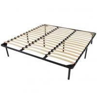 Wholesale Platform Foundation Metal Slatted Bed Base , Metal Bed Frame With Slats from china suppliers