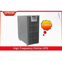 Quality PF 0.9 HF Uninterrupted Power Supply , 1-20KVA ups computer battery backup for sale