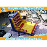 Buy cheap Excited Inflatable Sport Games / Outdoor Inflatable Velcro Wall from wholesalers
