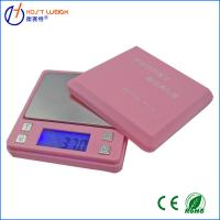 Wholesale Pink 0.01 x 500g100g/0.01g Digital Ashtray Pocket Scale Jewelry Gold Diamond Weighing Scales from china suppliers