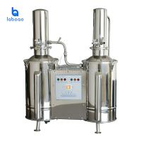 China Stainless steel electric water distiller with double distilled 5L on sale