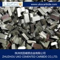 China wear-resistant tungsten carbide tips for saw blades on sale