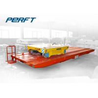 Wholesale Double track docking Rail Transfer Cart for factory warehouse across material transportation from china suppliers