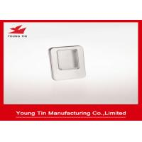 Metal Tinplate Blank Mini Tin Box With Clear PVC / PET Window On Cover YT1376