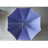 Wholesale Water Repellent Large Rain Umbrella , Royal Blue Corporate Branded Golf Umbrellas from china suppliers
