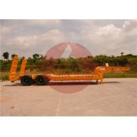 Quality Two Axle Heavy Duty Trailer Heavy Load Trailer For Steady Transportation for sale